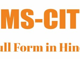 MSCIT Full Form